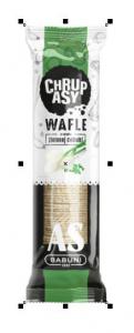 Chrupasy Wafle zielona cebulka 90G