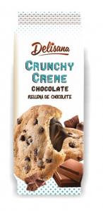 Delisana Crunchy ciastka z kremem czekoladowym 130G
