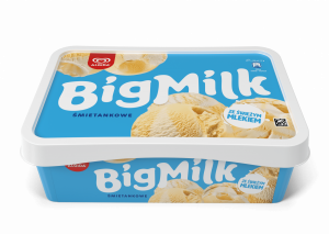 Lody Big Milk Śmietanka 900ml