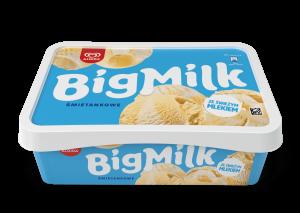 Lody Big Milk Śmietanka 900ml